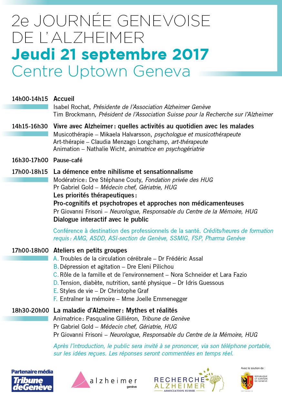 Jeudi 21 septembre 2017 – Centre UptownGeneva