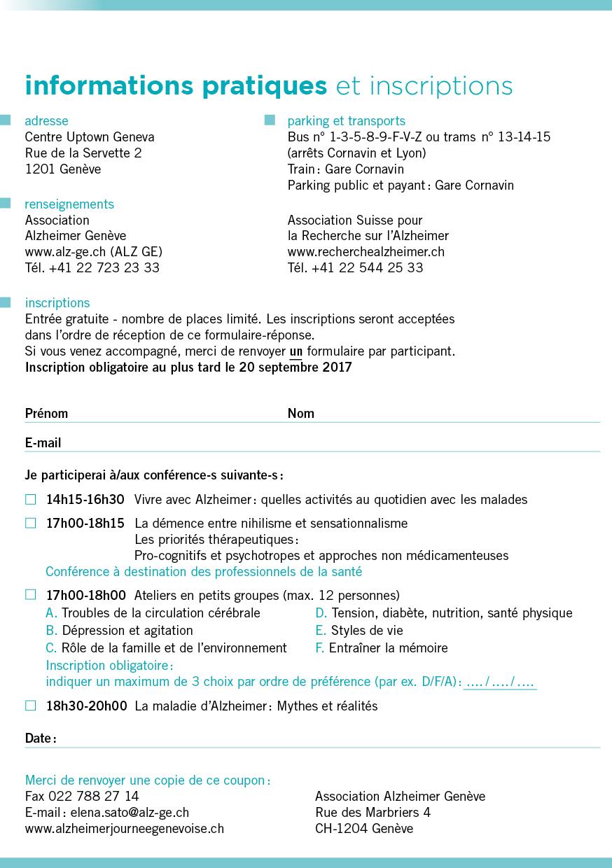 Häufig Assocation Suisse pour la Recherche sur l'Alzheimer BC97