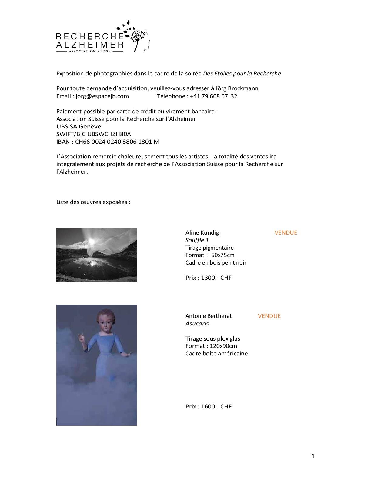 exposition de photographies dans le cadre de la soir e des etoiles pour la recherche. Black Bedroom Furniture Sets. Home Design Ideas